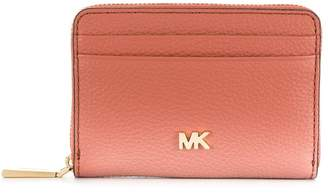 MICHAEL Michael Kors logo plaque wallet