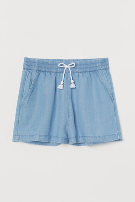 H&M Lyocell denim shorts