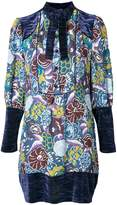 Anna Sui printed tunic dress