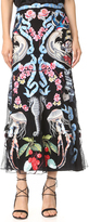 Temperley London Midi Sail Skirt