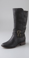 New Orleans Mid Calf Boots with Strap