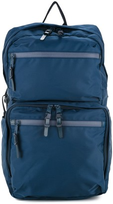 As2ov 210D nylon twill square backpack