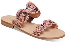 Jack Rogers Women's Lauren Snake Print Sandals