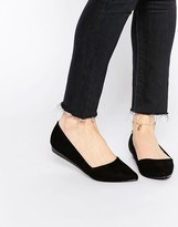 Oasis Pointed Slip On Shoes