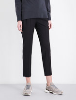 Brunello Cucinelli Cropped stretch-wool trousers