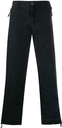 Giorgio Armani Pre Owned 1990's Zipped Trousers