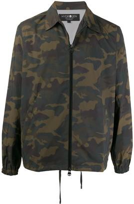 Hydrogen Camouflage-Print Shirt Jacket