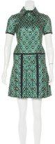 Burberry Fall 2016 Brocade Dress
