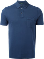 Zanone chest pocket polo shirt
