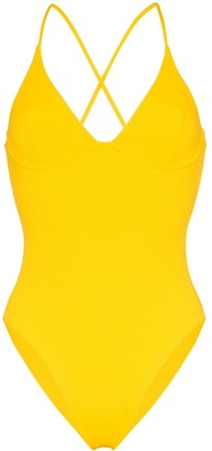 Les Girls Les Boys Underwired Tie-Back Swimsuit