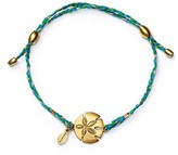 Alex and Ani Precious Metals Sand Dollar Expandable Thread Bracelet