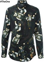 Dolce & Gabbana cowboy patch shirt