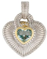 Topaz and Diamond Heart Enhancer