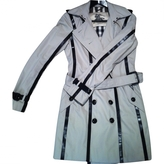Burberry Grey Synthetic Trench coat
