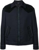 Lanvin zipped jacket - men - Polyester/Wool - 48