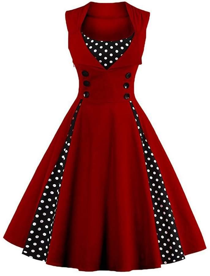 7dcda4c1a9c Retro Swing Dress - ShopStyle Canada