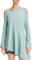 Free People Clear Skies Asymmetric Cold-Shoulder Tunic