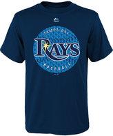 Majestic Boys' Tampa Bay Rays Electric Ball T-Shirt