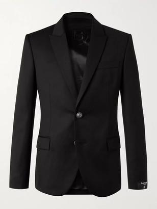 Balmain Slim-Fit Wool Blazer