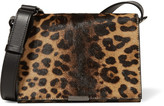 Victoria Beckham Leopard-print Calf Hair And Leather Shoulder Bag - Leopard print