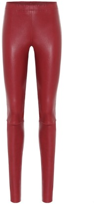 STOULS Carolyn skinny leather pants