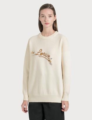 Loewe Stitch Knitted Jumper
