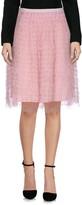 RED Valentino Knee length skirts - Item 35338126