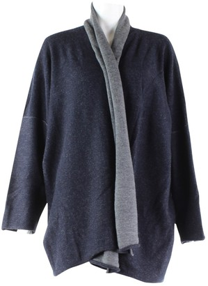 N. Non Signé / Unsigned Non Signe / Unsigned \N Blue Wool Knitwear