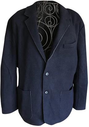 American Vintage Navy Wool Jackets