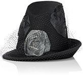 Albertus Swanepoel Women's 10th Anniversary Manon Top Hat-BLACK