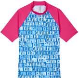 Calvin Klein LogoPrint Rash Vest
