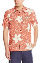 Quiksilver Waterman Men's Encinitas Woven Short-Sleeve Shirt
