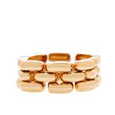 J.Crew Golden gears bracelet