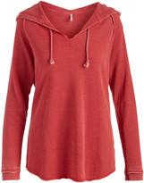 U.S. Apparel Women's Tunics Red - Red Hooded Tunic - Women