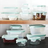 Crate & Barrel OXO ® Snap 30-Piece Glass/Plastic Storage Set