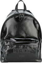 Givenchy logo print CI backpack - men - Artificial Leather - One Size