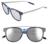 Christian Dior Men's 'Black Tie' 52Mm Sunglasses - Havana Crystal Ruthenium