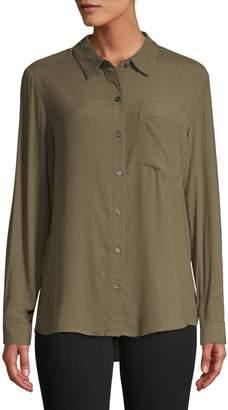 Lord & Taylor Petite Long-Sleeve Shirt
