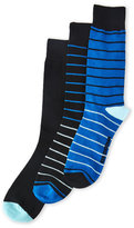 Ben Sherman 3-Pack Nigel Thin Stripe Socks