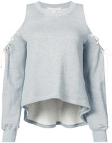 Jonathan Simkhai cold shoulder sweatshirt
