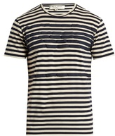 Etro Grosgrain-appliqué Cotton T-shirt