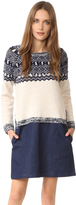 Clu Too Fair Isle Sweater Dress