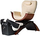 Continuum Maestro Pedicure Spa Chair In (FOSSIL) w/ Matching Delux Nail Tech Chair ($320 value)+ FREE Cape Co. Apron ($20 value)