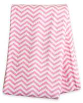 Trend Lab Chevron Deluxe Flannel Swaddle Blanket in Pink