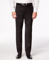 Shaquille O'Neal Collection Brown Neat Big and Tall Pants Only at Macy's
