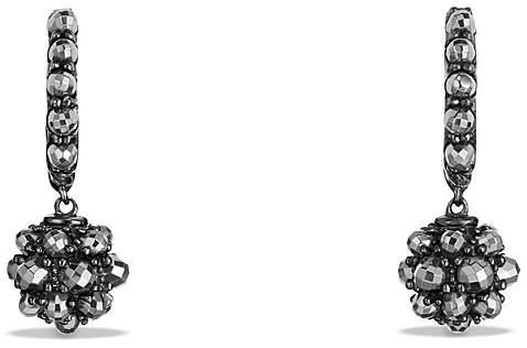 David Yurman Osetra Short Drop Earrings with Hematine