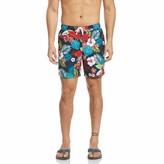 Original Penguin Hawaiian Floral Print Swim Short