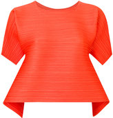 Pleats Please Issey Miyake creased blouse