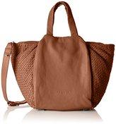 Liebeskind Berlin Women's Noda weave Top-Handle Bag Brown