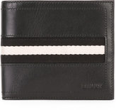 Bally Tollent stripe panel wallet - men - Cotton/Calf Leather - One Size
